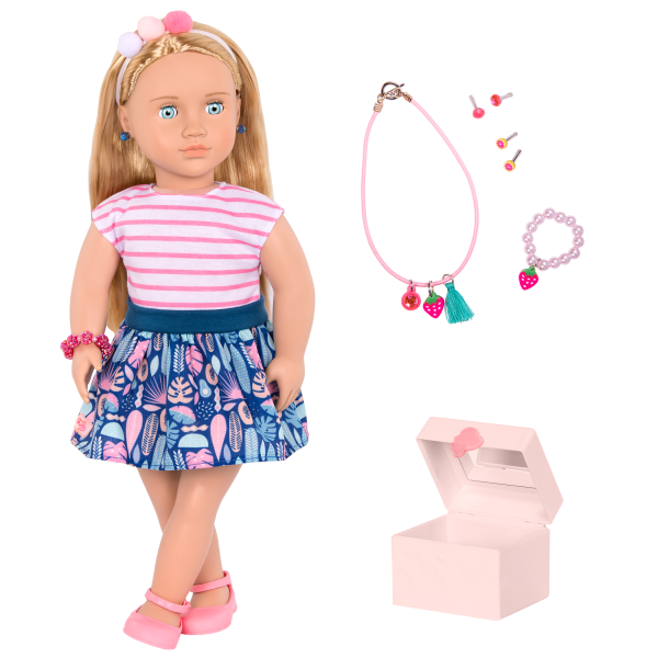 18-inch Jewelry Doll Alessia