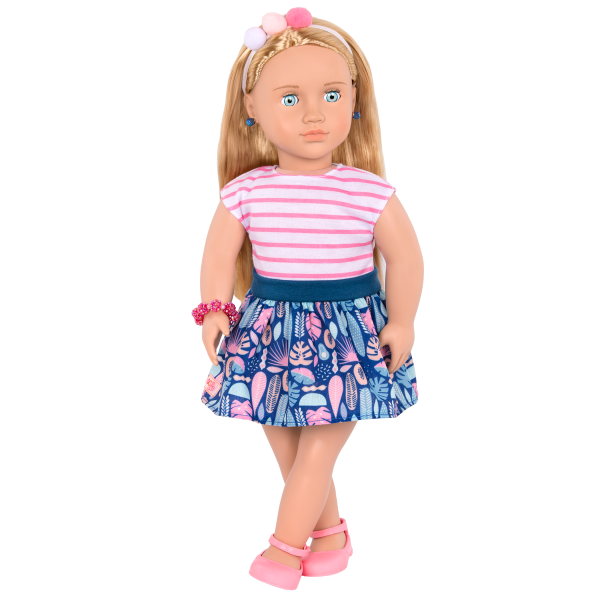 18-inch Jewelry Doll Alessia with Outfit