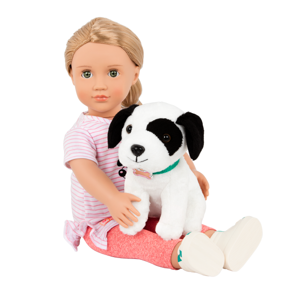 18-inch Dog Trainer Doll Hazel and Pet Accessories