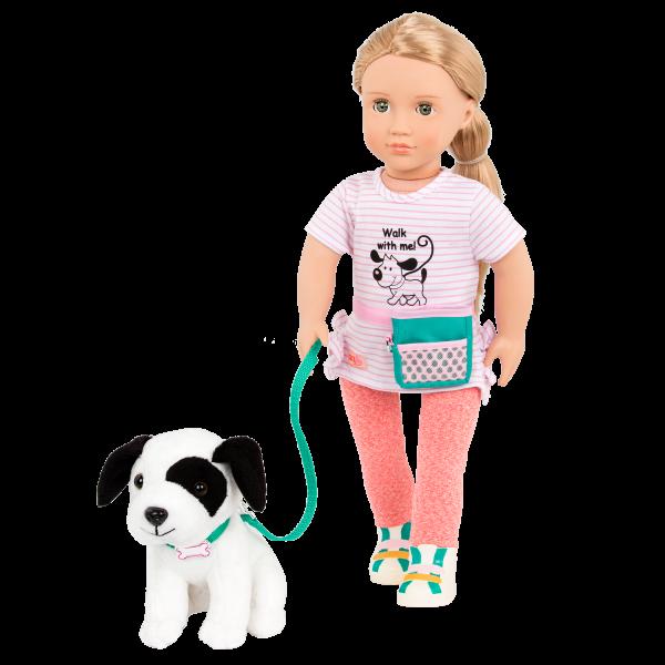 18-inch Dog Trainer Doll Hazel with Pet