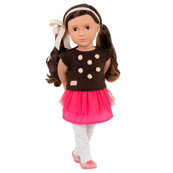 18-inch Fashion Doll Avia with Outfit