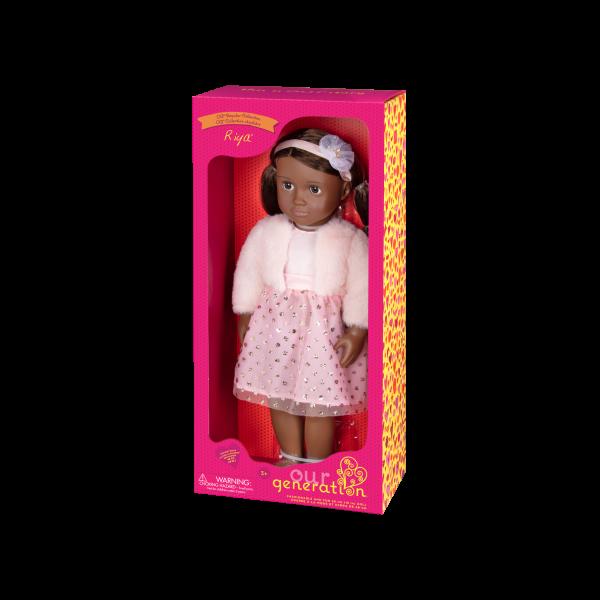 18-inch Fashion Doll Riya Packaging