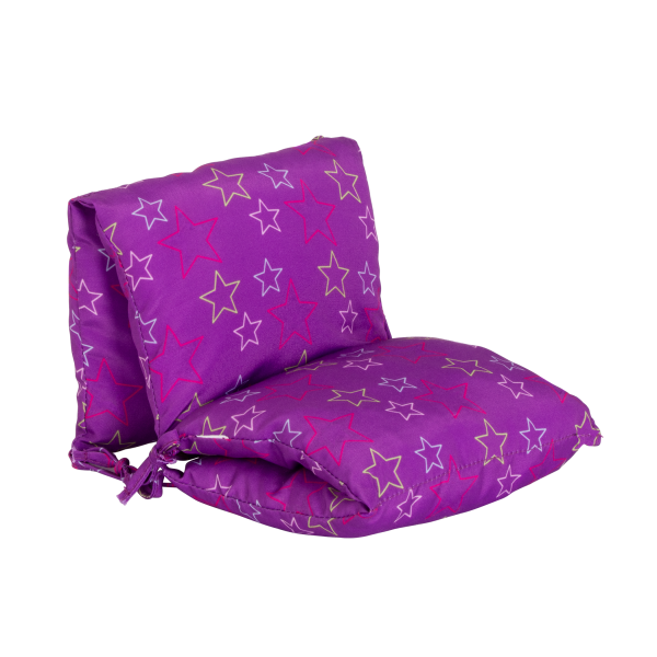 Slumber Delight Sleepover Set Chair Pillow