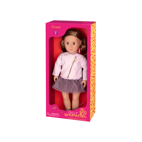 18-inch Fashion Doll Vienna Packaging