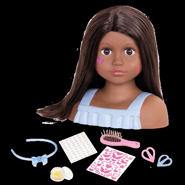 Nessa Doll Hair Styling Head