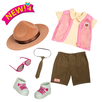 Park Ranger Flair Outfit for 18-inch Dolls