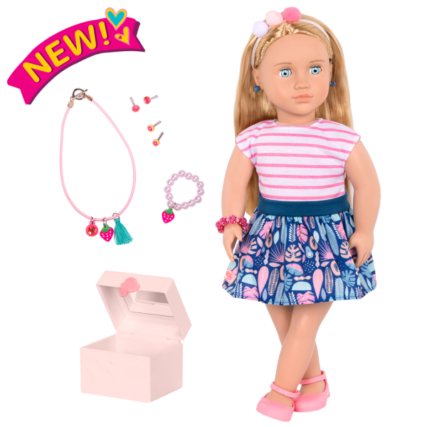 18-inch Jewelry Doll Alessia