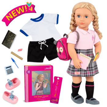 18-inch Deluxe School Doll Hally