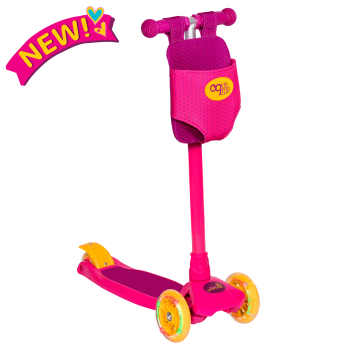 By My Side Scooter for Kids and 18-inch Dolls