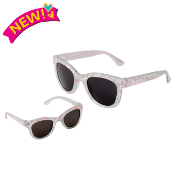 Me & You Cherry Printed Sunglasses for Kids and 18-inch Dolls