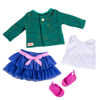 Bright and Brisk Fashion Outfit for 18-inch Dolls