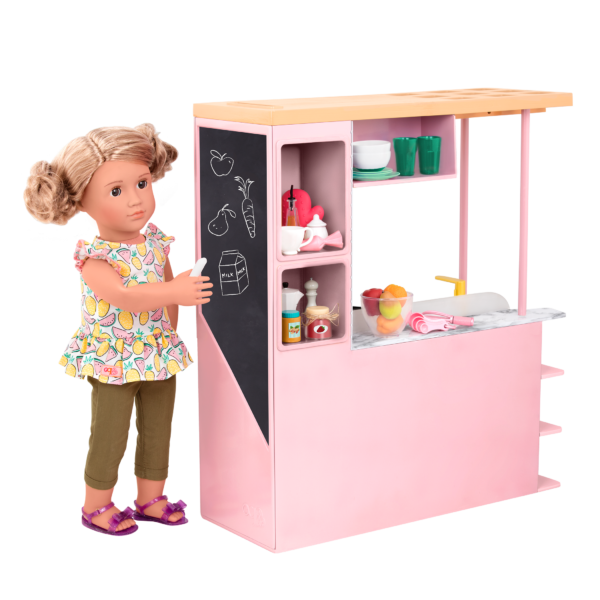 Sweet Kitchen Set with Chalkboard