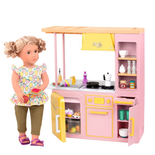 Sweet Kitchen Set Pink with Noelle