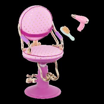 Sitting Pretty Salon Chair for 18-inch Dolls