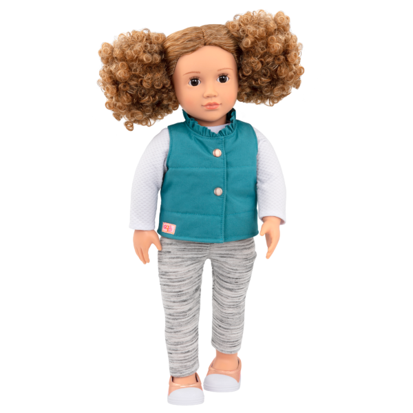 18-inch Fashion Doll Mila with Outfit