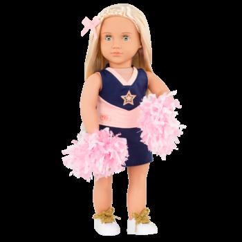 18-inch Cheerleader Doll Khloe