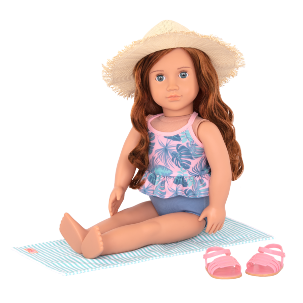 18-inch Beach Doll Lexie Accessories