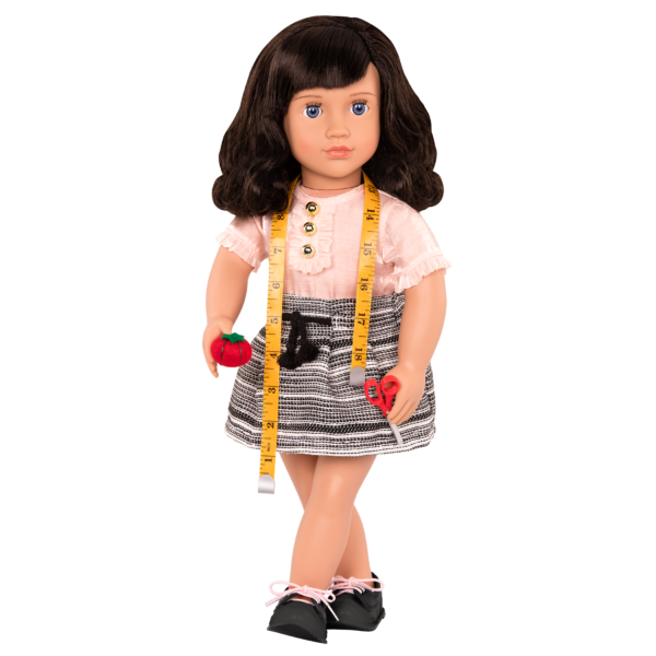 18-inch Fashion Designer Doll Olinda with accessories