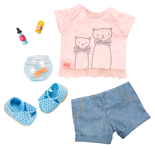 Playtime Pets Outfit for 18-inch Dolls