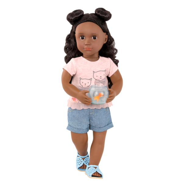 Playtime Pets Outfit for 18-inch Dolls with Macy