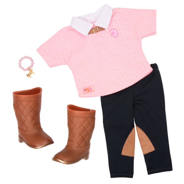Cantering Couture Outfit for 18-inch Dolls