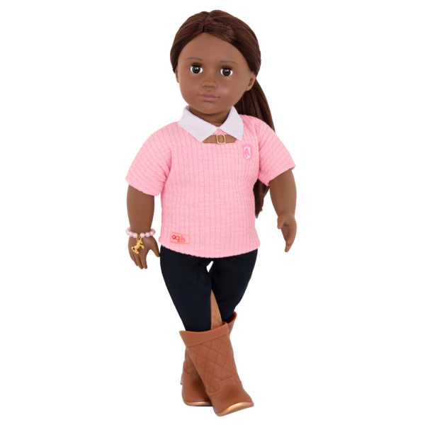 Cantering Couture Outfit for 18-inch Dolls with Riya