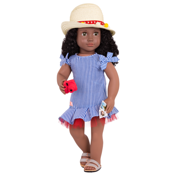 Sweet Souvenirs Deluxe Outfit for 18-inch Dolls with CJ