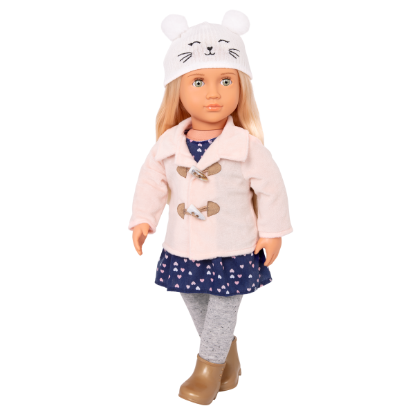 Deluxe Cheerfully Chilly Outfit for 18-inch Dolls with Accessories