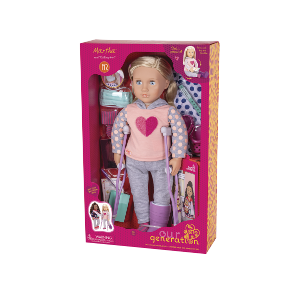 Martha Deluxe 18-inch Hospital Doll Package Box