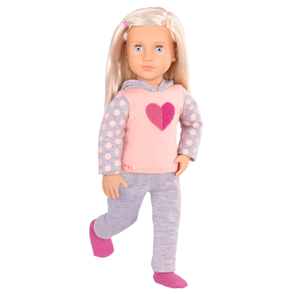 Martha Deluxe 18-inch Hospital Doll Accessories Medical Cast Play