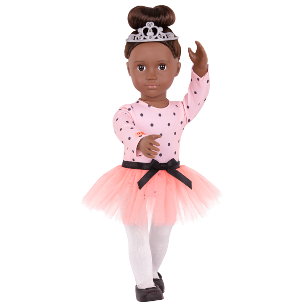 On Point Ballet Outfit Ballerina Clothes Tutu for 18-inch Dolls