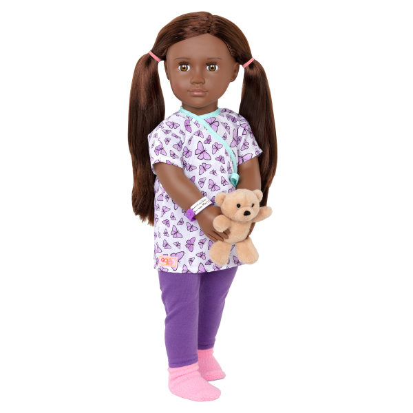 18-inch Hospital Doll Karissa Gown Accessories Doctor Play