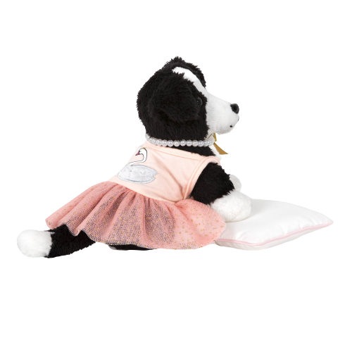 Pirouette Puppy Ballet Outfit with Accessories for 6-inch Plush Dogs