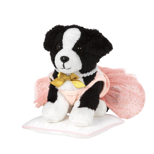 Pirouette Puppy Ballet Outfit for 6-inch Posable Plush Dogs Pets
