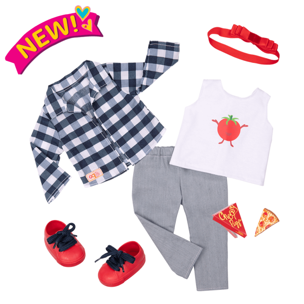 Head-To-Ma-Toes Outfit for 18-inch Dolls