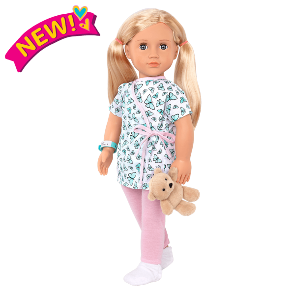 18-inch Hospital Doll Evely