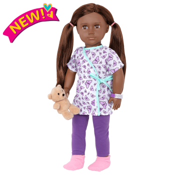 18-inch Hospital Doll Karissa