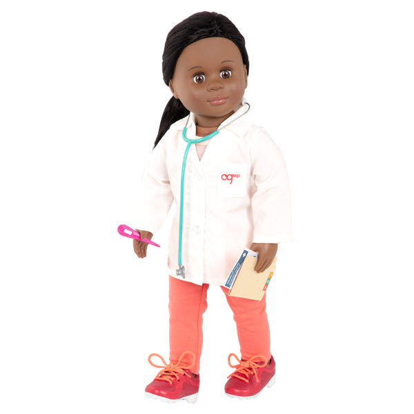 Healthy Check-Up Doctor Set for 18-inch Dolls Medical Play