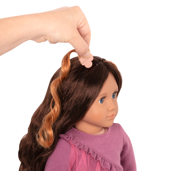18-inch Hair Play Doll Bridget Clip In Extensions
