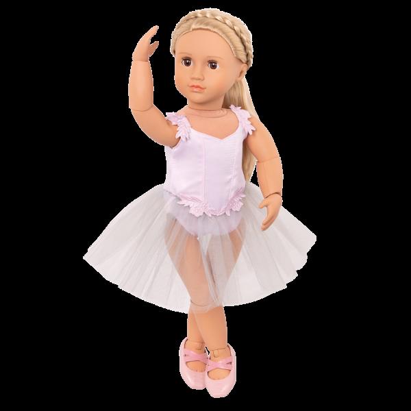 18-inch Posable Ballerina Doll Blonde Hair
