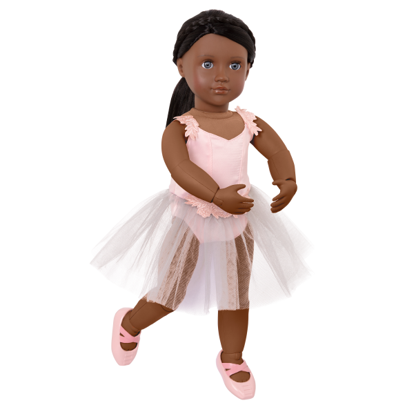 18-inch Posable Ballet Doll with Movable Joints
