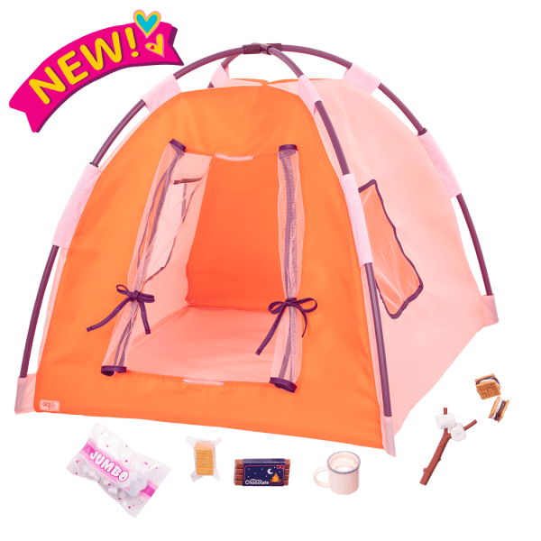 All Night Campsite 18-inch Doll Tent