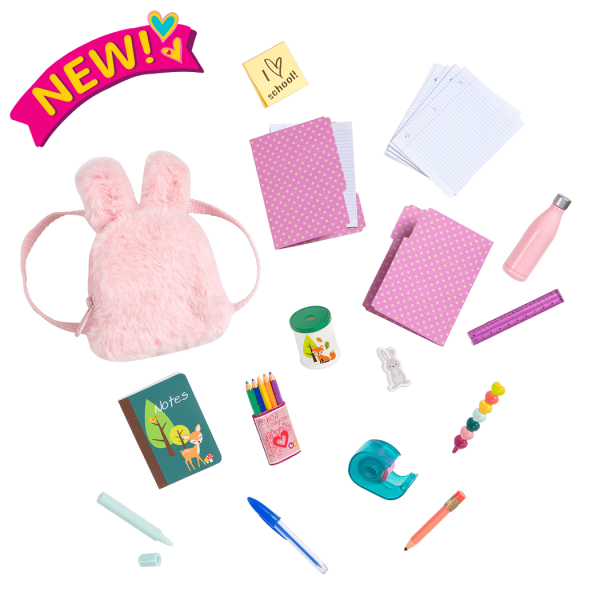 Bright & Learning School Accessories for 18-inch Dolls
