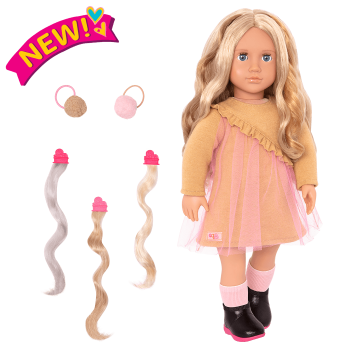 18-inch Hair Play Doll Bianca