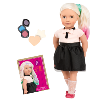 Amya 18-inch Hair Chalk Deco Doll