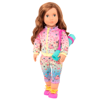Lucy Grace 18-inch Yoga Doll