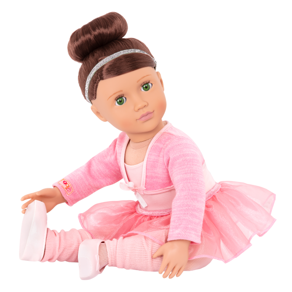 Sydney Lee Deluxe 18-inch Ballet Doll Ballerina Outfit