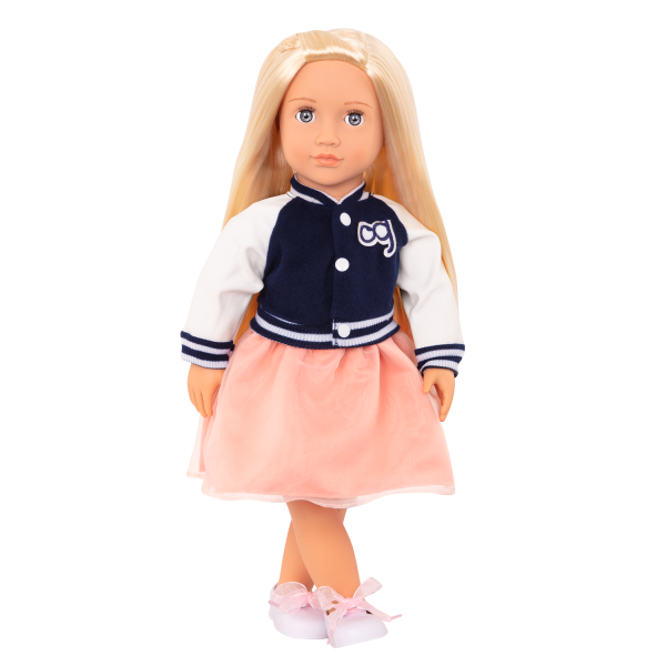 Terry 18-inch Retro Doll Blonde
