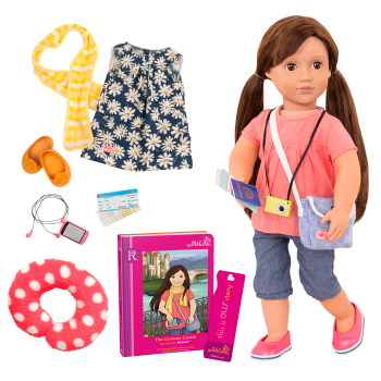 Reese Deluxe 18-inch Travel Doll