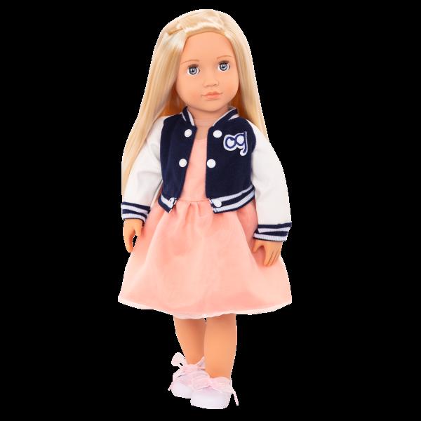Terry Retro 18-inch Doll with Varsity Jacket